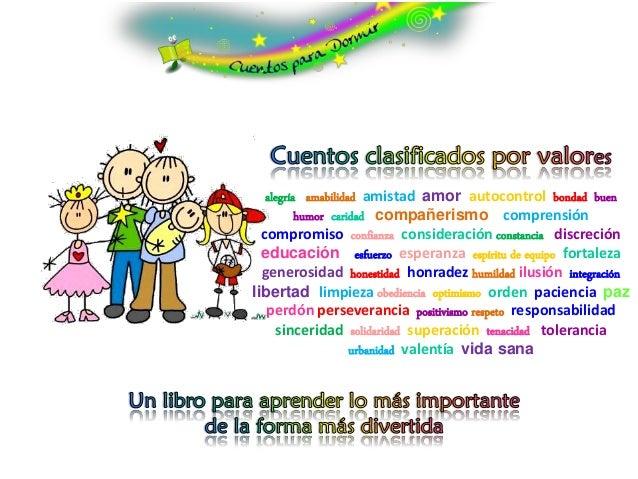 alegría amabilidad amistad amor autocontrol bondad buen          humor caridad compañerismo comprensión  compromiso confia...