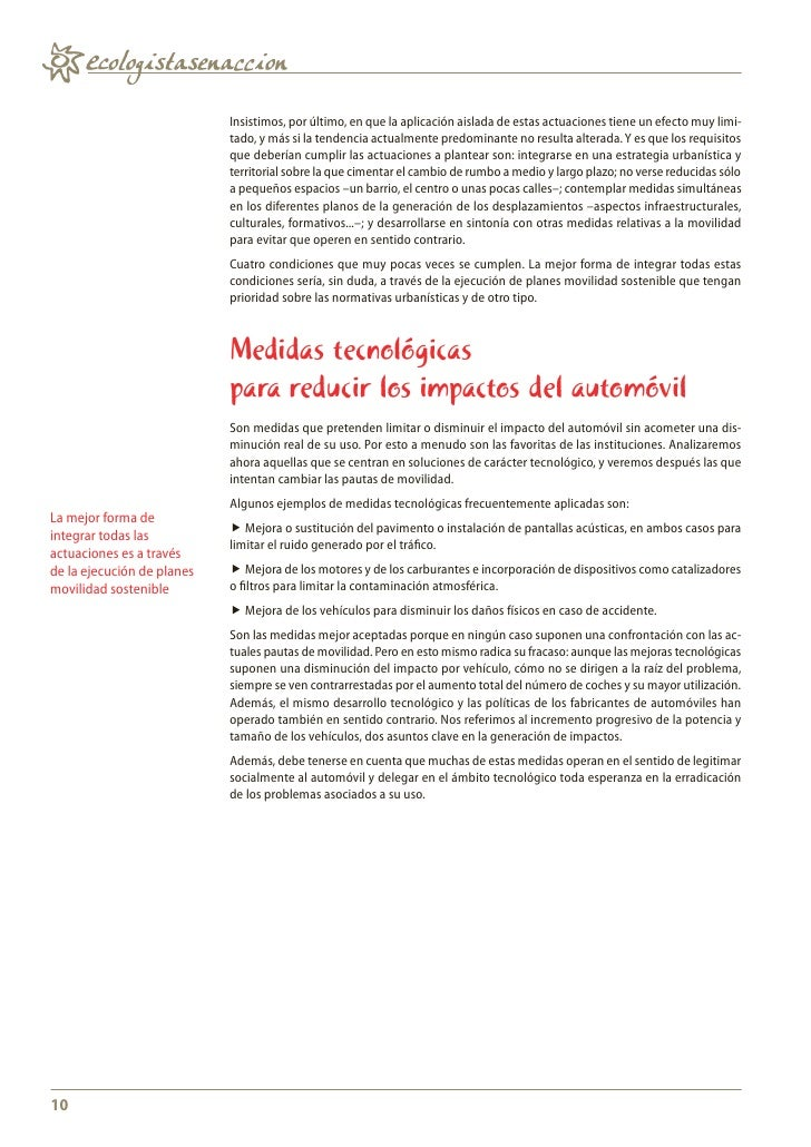 Cuaderno. Ideas y buenas prácticas para la movilidad