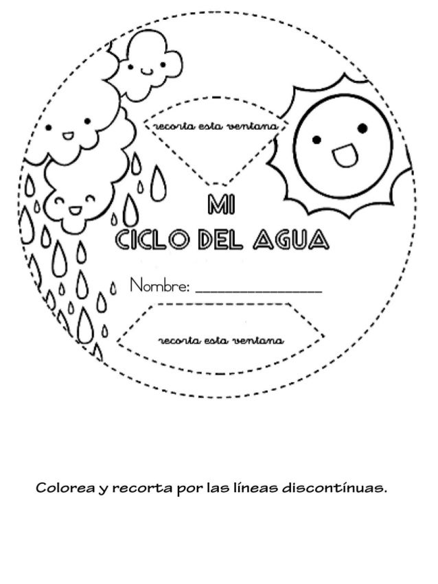Cuaderno Interactivo Ciclo Del Agua