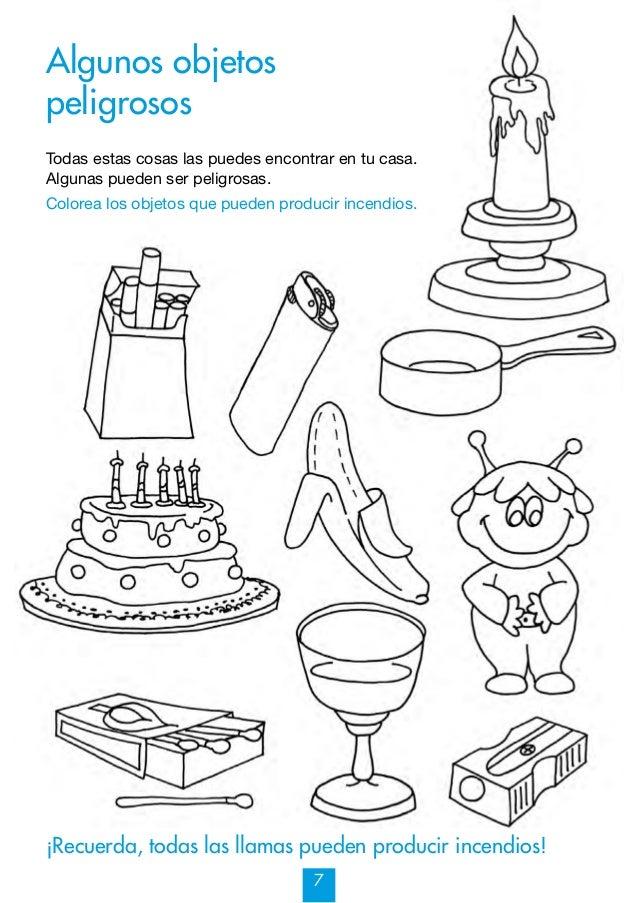 Mi cuaderno de prevención de Incendios y otros riesgos 7-9 años