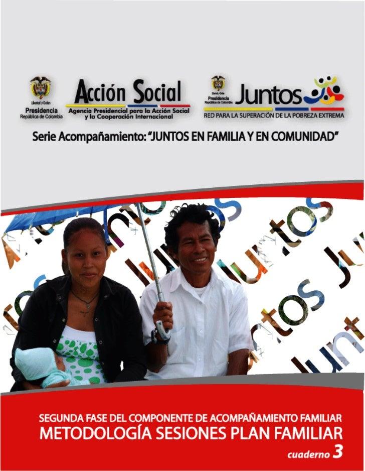 Cuaderno 3 metodología de plan familiar