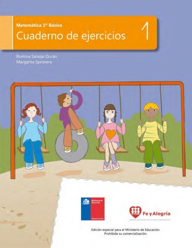 Números hasta el 10 Cuaderno de ejercicios 1 Unidad 1