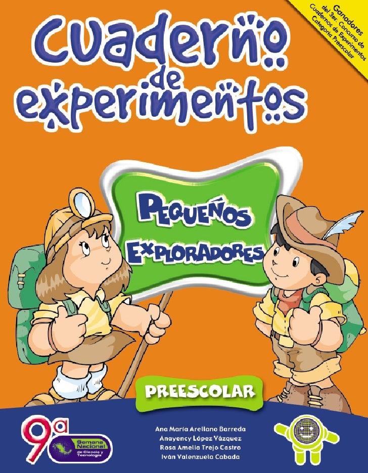 Cuaderno de experimentos pequeños exploradores
