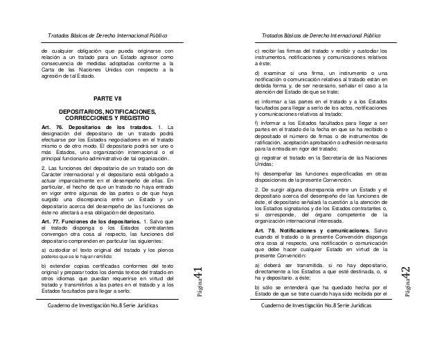 de cualquier obligación que pueda originarse con             c) recibir las firmas del tratado v recibir y custodiar losre...