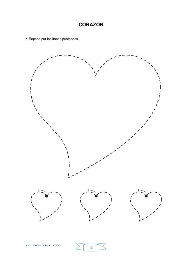 RED INNOVADORAS - ATICO 12 CORAZÓN • Repasa por las líneas punteadas.