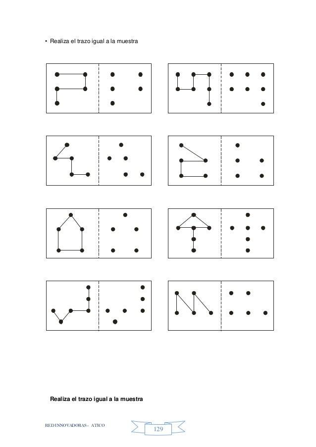 RED INNOVADORAS - ATICO 129 • Realiza el trazo igual a la muestra Realiza el trazo igual a la muestra