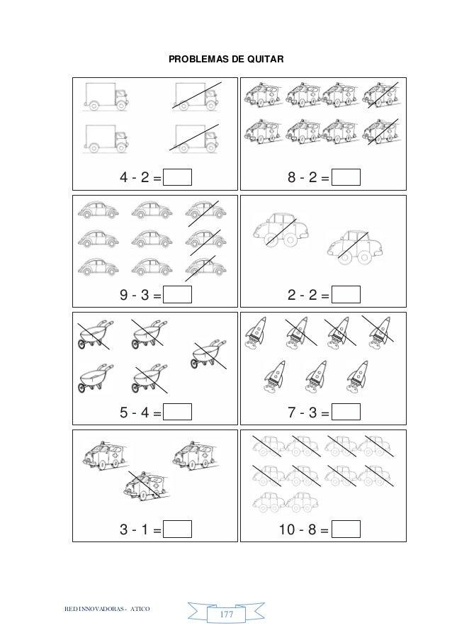 RED INNOVADORAS - ATICO 177 PROBLEMAS DE QUITAR 4 - 2 = 8 - 2 = 9 - 3 = 2 - 2 = 5 - 4 = 7 - 3 = 3 - 1 = 10 - 8 =