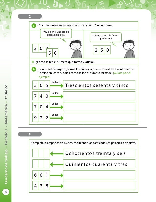 Cuaderno de trabajo 3 matematicas diarioeducacion blog