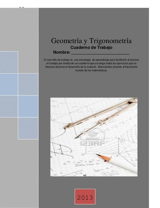 COLEGIO DE ESTUDIOS CIENTIFICOS YTECNOLOGICOS DEL ESTADO DE JALISCOGeometría y Trigonometría1 Ing. Edison VillacrésGeometr...