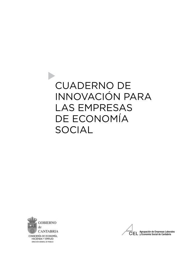 Cuaderno Innovación Empresas de Economía Social Slide 3
