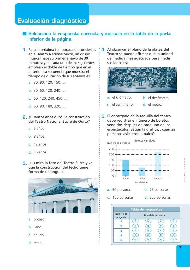 Excelente Hojas De Trabajo De Matemáticas Séptimo Grado Componente ...