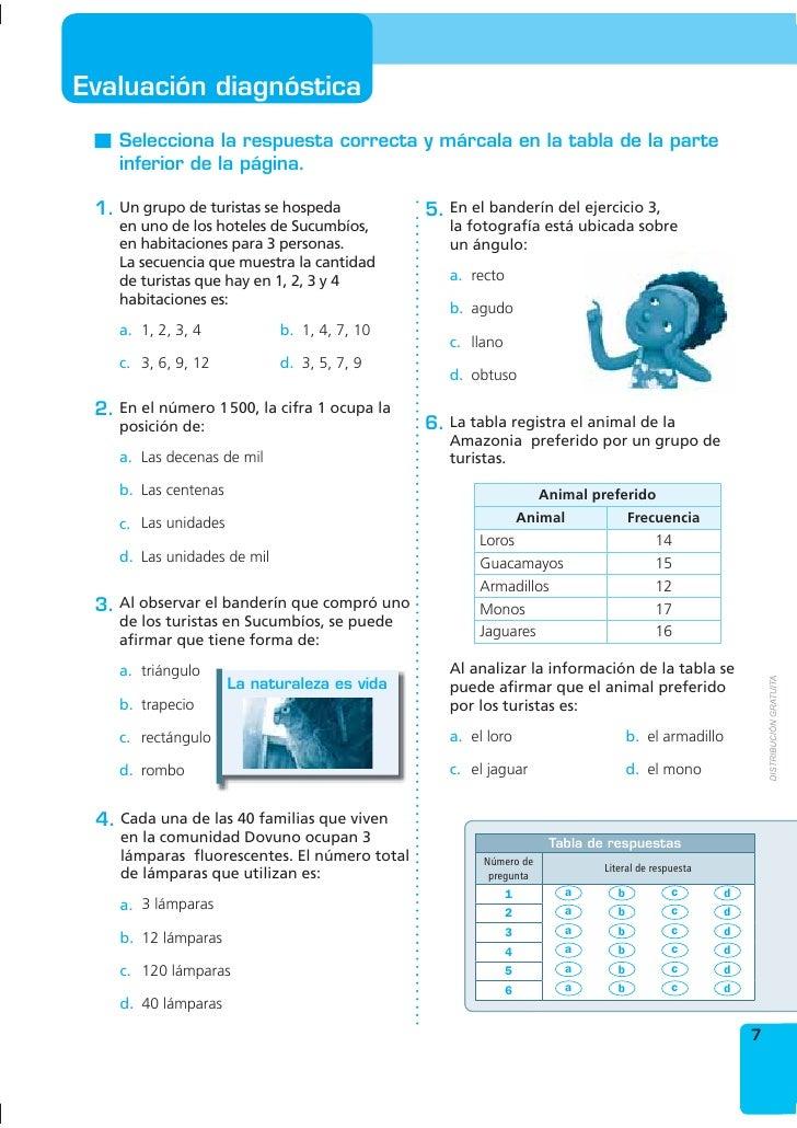 Único Matemáticas 7º Grado Hojas De Trabajo De Respuestas ...