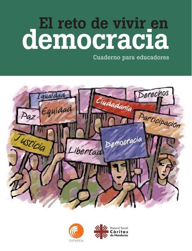 Cuaderno para educadores democracia El reto de vivir en