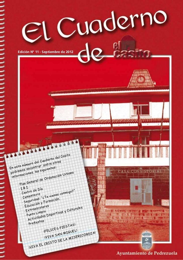 Edición Nº 11 - Septiembre de 2012                                                    ito                                 ...