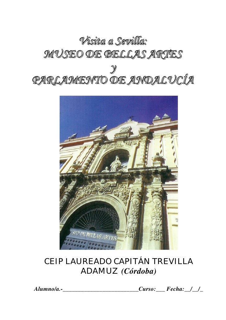 CEIP LAUREADO CAPITÁN TREVILLA            ADAMUZ (Córdoba)  Alumno/a.-_________________________Curso:___ Fecha:__/__/_