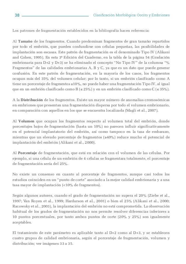 Cuaderno valoración morfología asebir 3ª edición