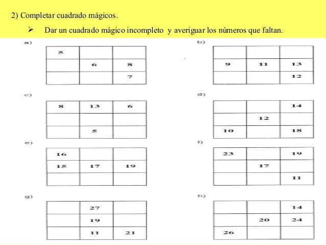 Cuadrado magico for Plafones cuadrados de pared