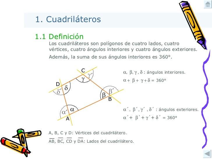 Cuadril teros i for Definicion exterior