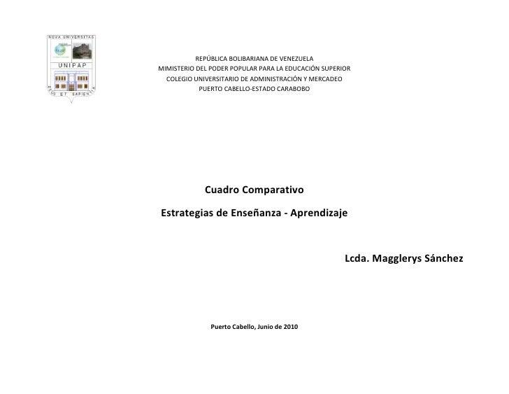 14605-394335REPÚBLICA BOLIBARIANA DE VENEZUELA MIMISTERIO DEL PODER POPULAR PARA LA EDUCACIÓN SUPERIORCOLEGIO UNIVERSITARI...