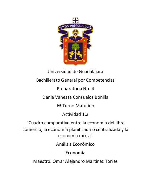 Universidad de Guadalajara Bachillerato General por Competencias Preparatoria No. 4 Dania Vanessa Consuelos Bonilla 6ª Tur...