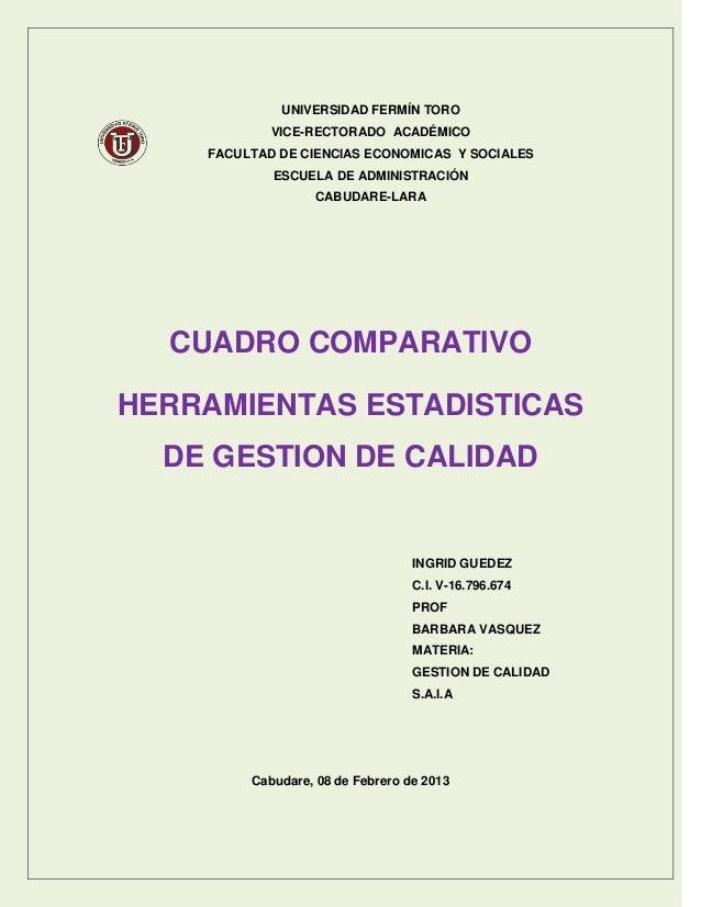 UNIVERSIDAD FERMÍN TORO            VICE-RECTORADO ACADÉMICO    FACULTAD DE CIENCIAS ECONOMICAS Y SOCIALES            ESCUE...
