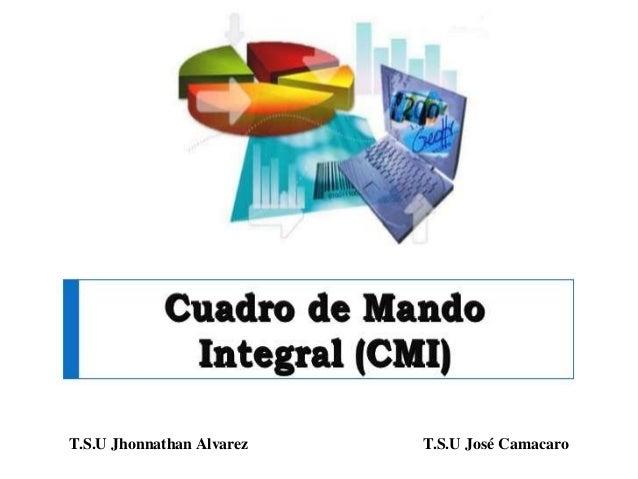 T.S.U Jhonnathan Alvarez T.S.U José Camacaro
