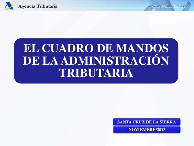 El cuadro de mandos de la administraci n tributaria for Oficina tributaria
