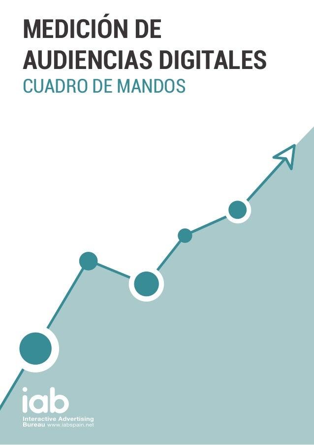 MEDICIÓN DE AUDIENCIAS DIGITALES CUADRO DE MANDOS