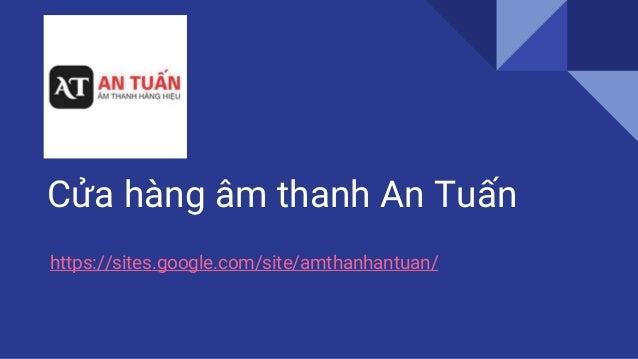 Cua Hang Am Thanh An Tuan