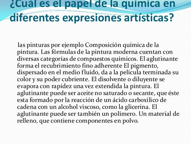 Cual es el papel de la quimica en las diferentes for La quimica y la cocina pdf