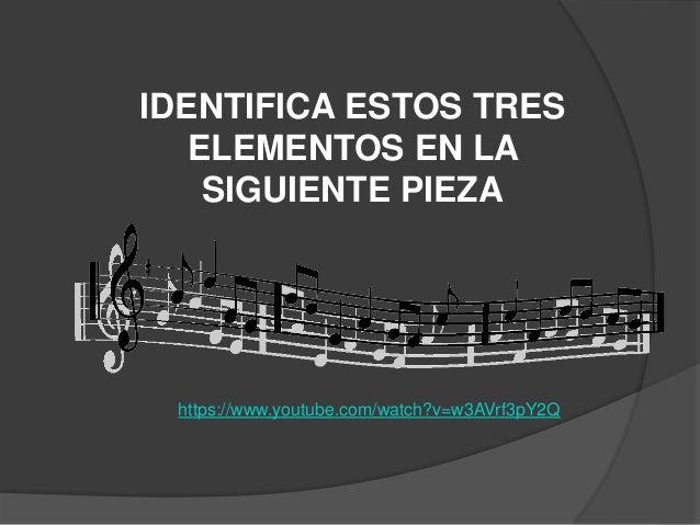Cualidades de la música (una revisión)