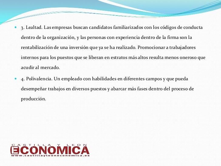 Las 10 cualidades que las empresas de Castilla y León buscan en sus empleados Slide 3