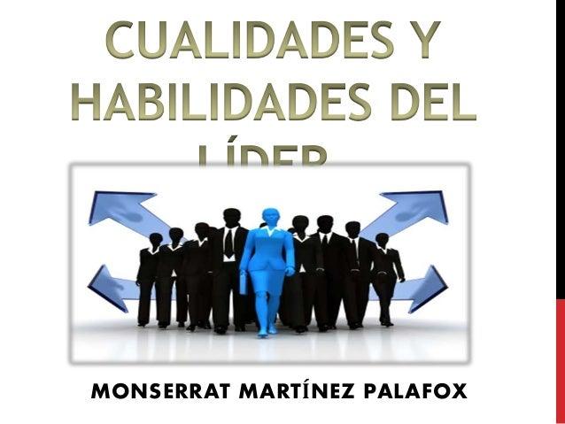 MONSERRAT MARTÍNEZ PALAFOX
