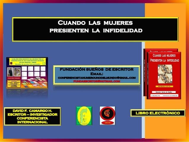 DAVID F. CAMARGO H.ESCRITOR – INVESTIGADORCONFERENCISTAINTERNACIONALFUNDACIÓN SUEÑOS DE ESCRITOREmail:conferencistanumerou...