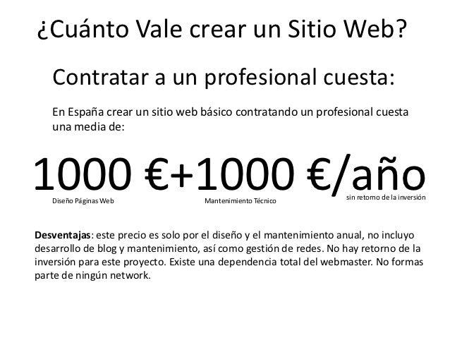 Cuanto vale crear un sitio web de xito for Cuanto cuesta un segway