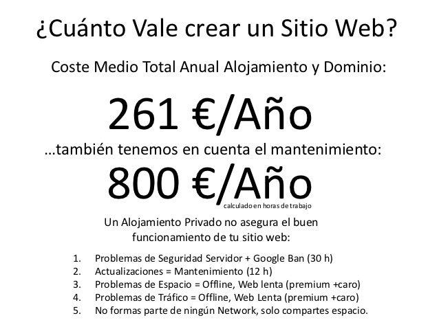 Cuanto vale crear un sitio web de xito for Cuanto vale un toldo