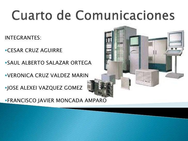 Cuarto De Comunicaciones Redes