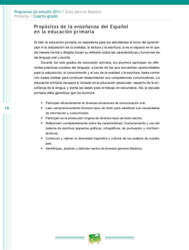 programa primara cuarto grado rieb 2011