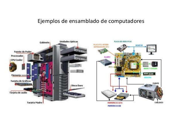 Ejemplos de ensamblado de computadores