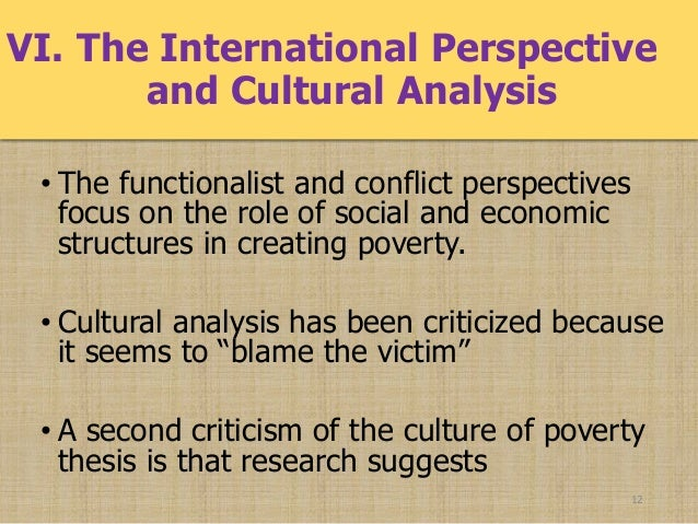 cuases of poverty poverty and inequality 11 12 vi the international perspective and cultural