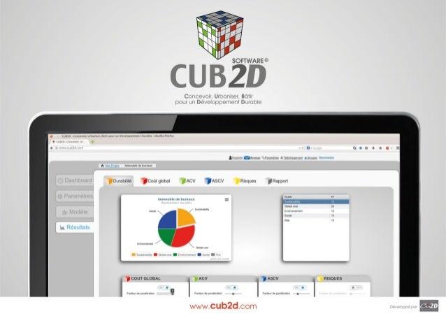 www.cub2d.com  Système  Le système CUB2D est une plateforme web collaborative, construite autour d'un logiciel de manageme...