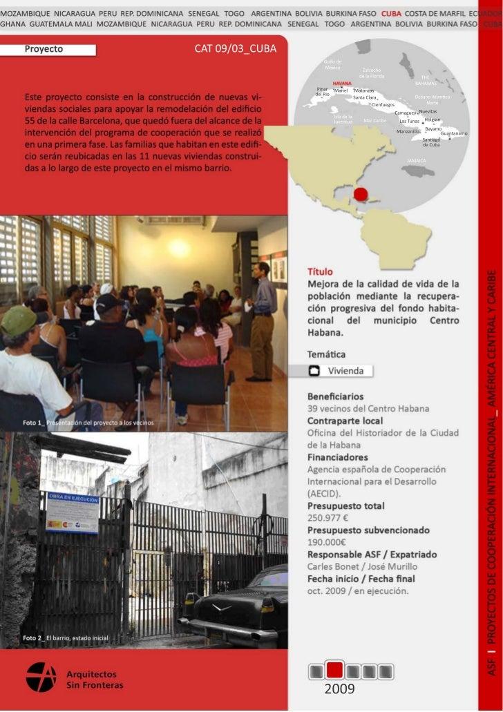 Arquitectos Sin Fronteras en Cuba