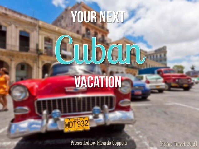 Your next Vacation