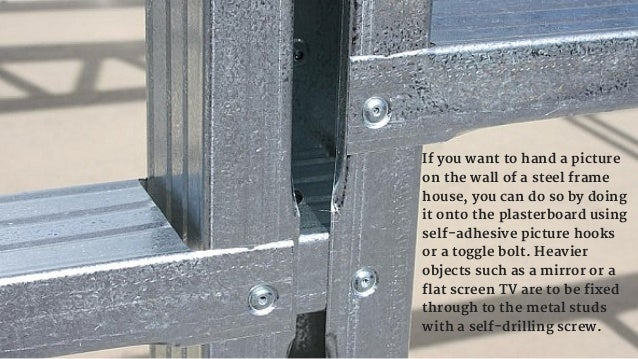 Facts About Steel Framed Houses