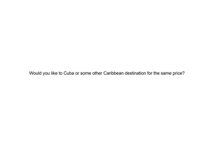 Cuba Offers Low