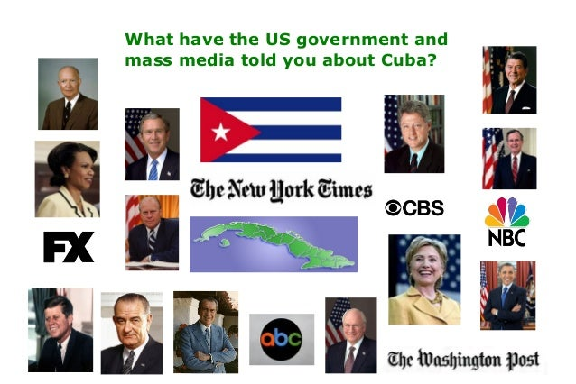 What have the US government andmass media told you about Cuba?