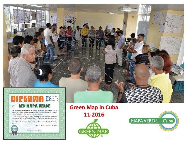 GreenMapinCuba 11-2016