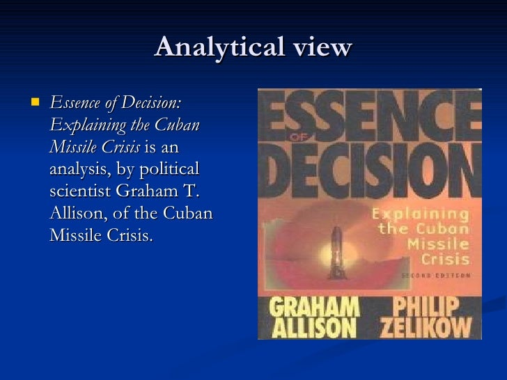 Cuban Missile Crisis A Case Study of Fear for the Cold War
