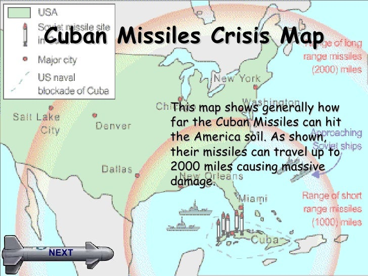 Cuban Missile Crisis Game - Map of cuba and us