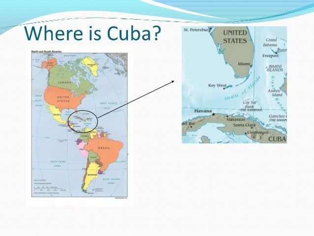 Cuban Missiles Crisis Revision Presentation - Where is cuba
